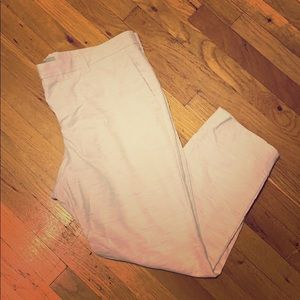 Ash Gray Slim Dress Pants